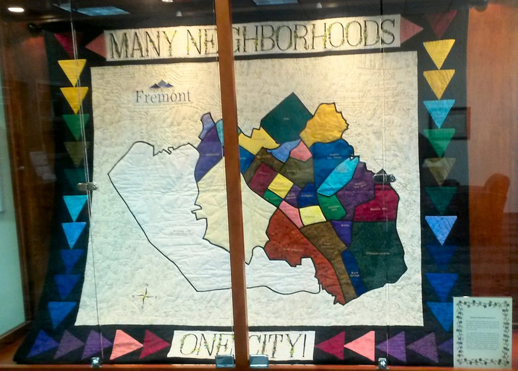 Fremont Neighborhoods Quilt