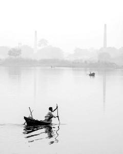"""A Misty Morning"" by Koushik Biswas"